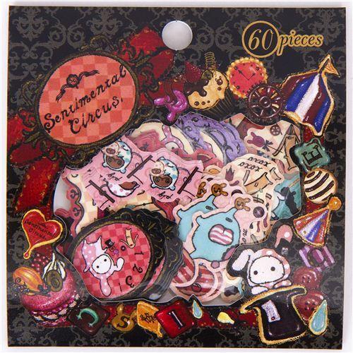 Sentimental Circus sticker sack kawaii