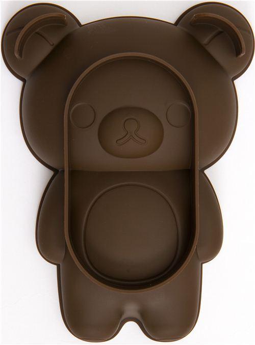 kawaii Rilakkuma bear silicone cake mold pan