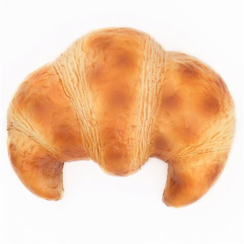 cute big light brown butter croissant bread scented (faulty) squishy Puni Maru