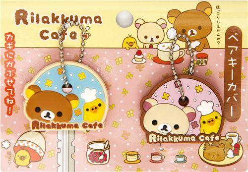 Rilakkuma bear Chick key cover charm