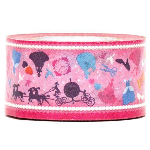 Cinderella Paper Tape fairy tale shoe