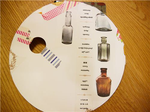 The bottle tape is one of our favourites, it looks amazing