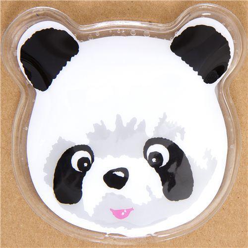 panda bear face cooling gel pad from Japan
