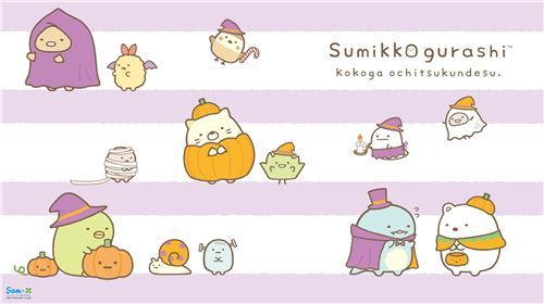 These Sumikko gurashi are too cute to be scary!
