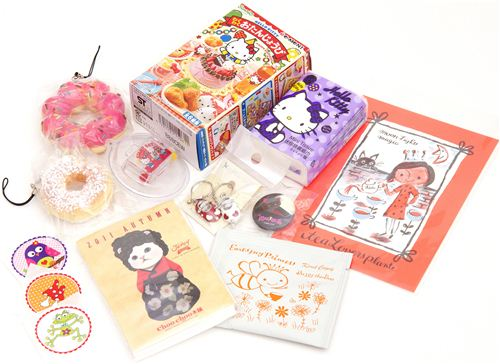 Giveaway package No.2 with BRAND NEW Hello Kitty Happy Birthday Re-Ment