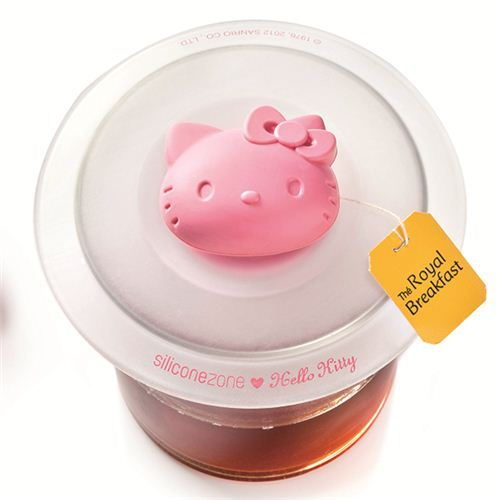 Hello Kitty silicone cup lid from Japan