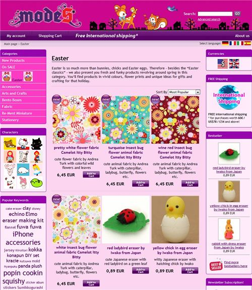 Browse through all the fun Easter and spring products in our Easter category