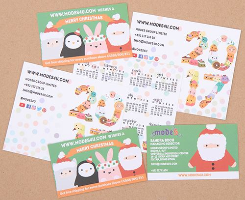 Check Out Our Kawaii Business Cards And 2017 Calendar Modes Blog
