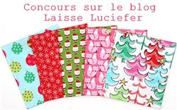 Christmas Fabric Giveaway with Laisse Luciefer (ends on Nov 6th, 2015)