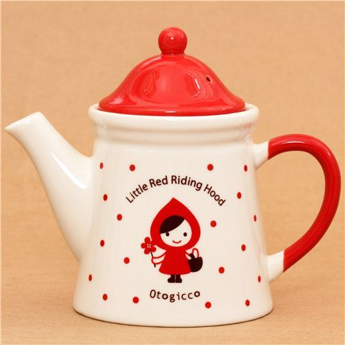 Little Red Riding Hood tea pot Otogicco Decole