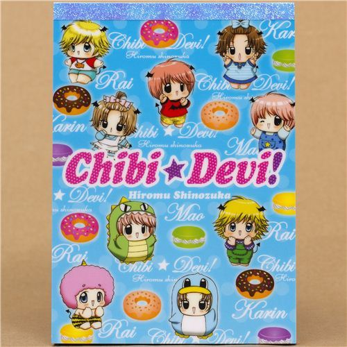 Babies in costumes and donuts Memo Pad from Japan