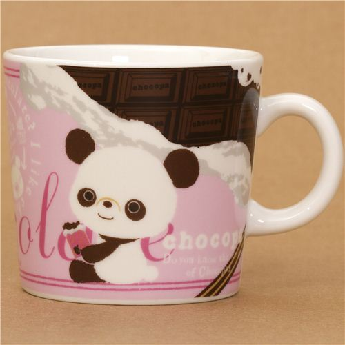 chocopa bear with chocolate cup by San-X from Japan