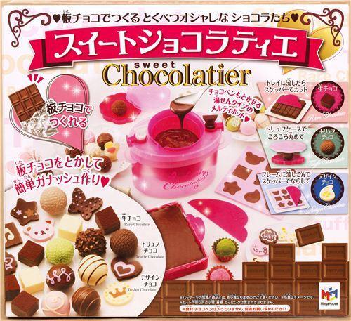 Sweet Chocolatier chocolate & truffles set from Japan