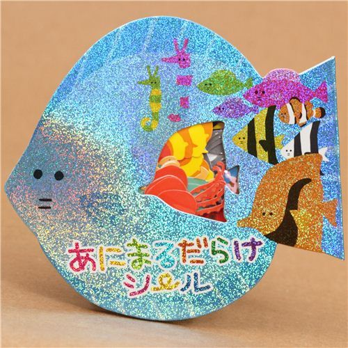 sticker sack sea animals from Japan kawaii
