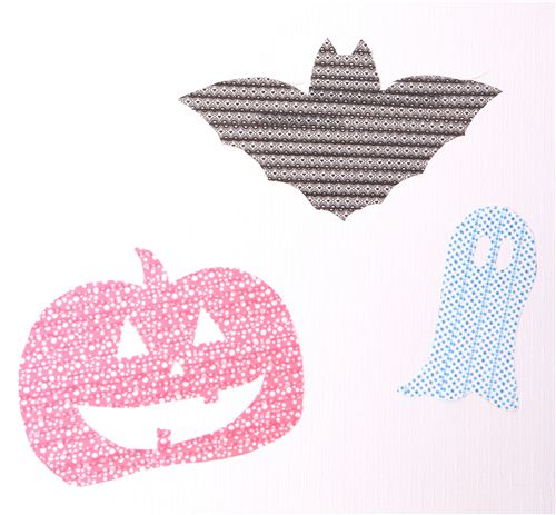 Craft these easy Halloween wall decorations with Masking Tape