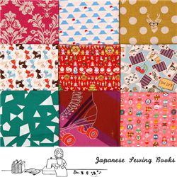 Japanese Sewing Books Christmas giveaway with modes4u fabrics, ends November 16th, 2014