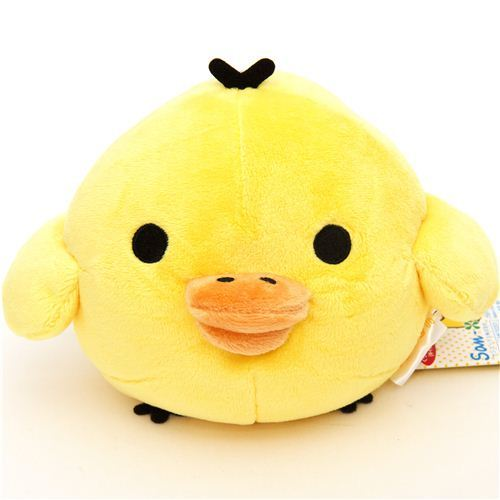 Rilakkuma plush toy yellow chick Kiiroitori