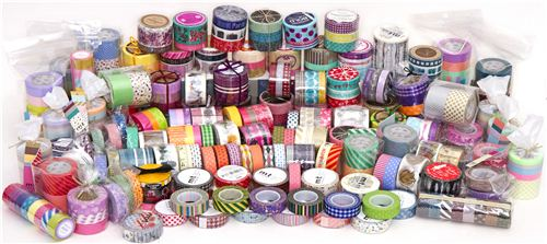 The next 100 shop orders will receive a free surprise Washi Tape
