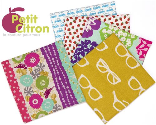 Win these cool Fat Quarters in the Petit Citron giveaway
