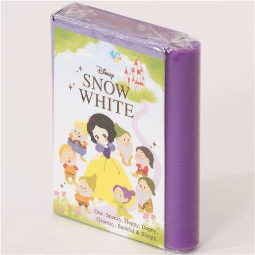kawaii Snow White fairy tale book eraser