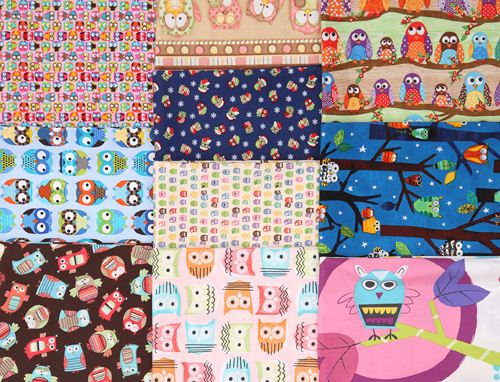 You can win these 10 owl fabrics from modes4u.com