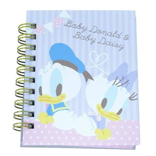 cute baby Donald Daisy Duck mini ring binder notebook