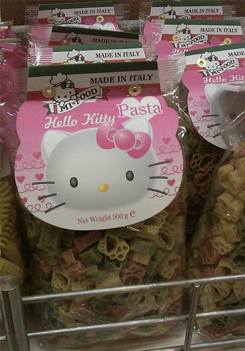 Hello Kitty Food in the supermarket 2