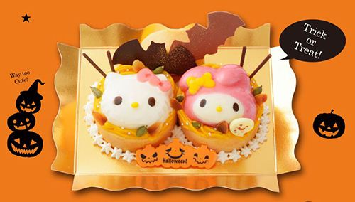 This cute Hello Kitty Halloween cake is surely the sweetest pumpkin of the year.