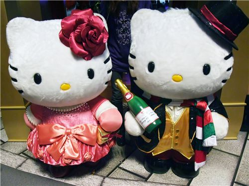 cute Hello Kitty & Dear Daniel couple