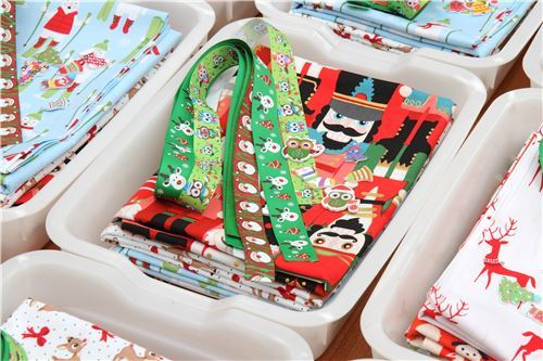 Massive Christmas fabric surprise grab bag