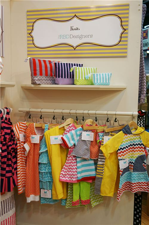 Cute children's clothes and washbags