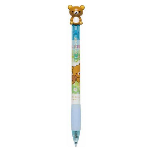 blue Rilakkuma bear glitter Mechanical Pencil by San-X from Japan