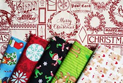 Christmas Fabric Giveaway on Japanese Sewing Books (ends on Oct 2yth, 2016)