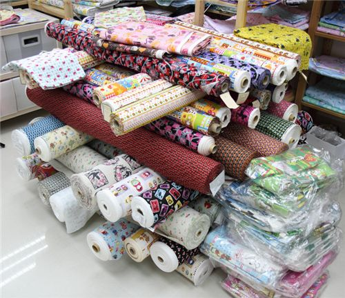 Japanese fabrics arrived at the office 1