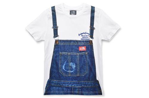 Hello Kitty dungarees men's shirt