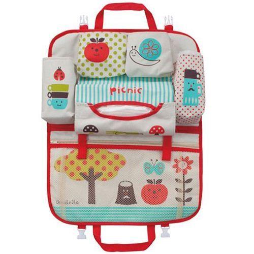 Decole polka dot apple snail picnic car bag Japan