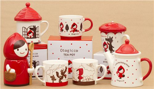 We have this Little Red Riding Hood tableware in our shop