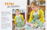 Apple Fabric Apron and Oven Glove