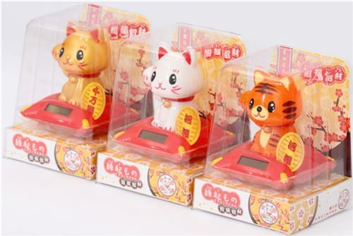Maneki Neko Lucky Cat Nohohon 3