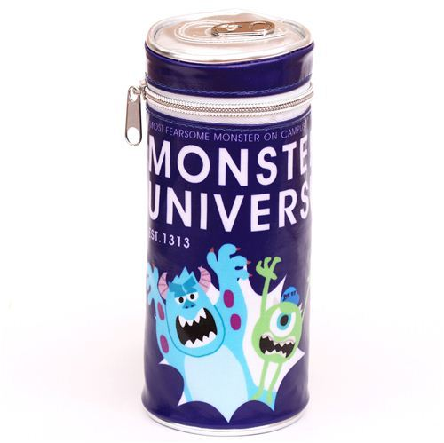 Disney Monsters University Mike Sulley pencil case pouch can
