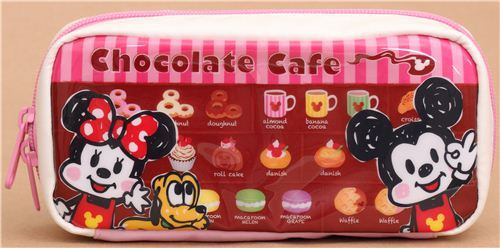 Mickey Mouse Cafe pencil case from Japan