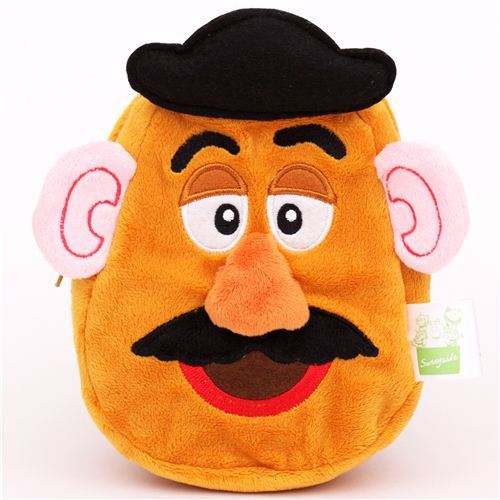 fluffy Toy Story Mr. Potato Head plush pencil case