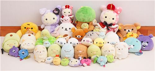 Check out all these cute plushies in our shop