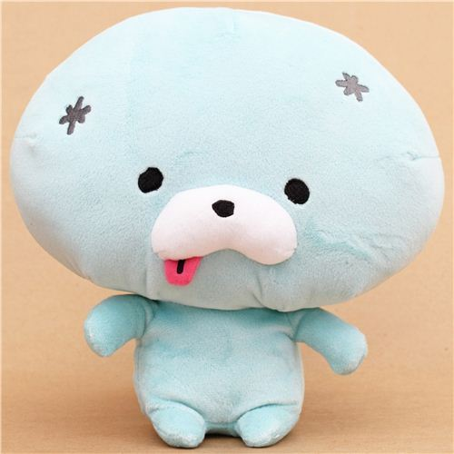 Zombbit big turquoise zombie rabbit plush toy San-X Japan