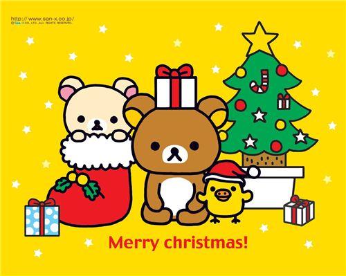 modes4u and Rilakkuma say: Merry Christmas!