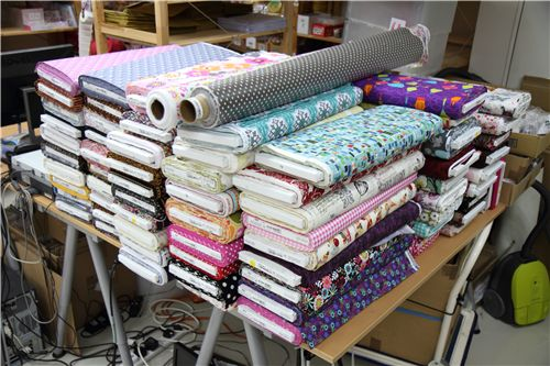 these fabrics are just the new designs that arrived