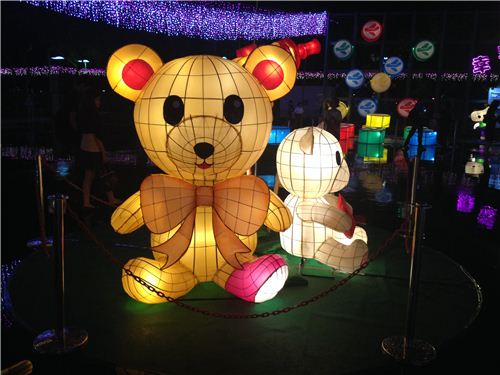 teddy bear lantern