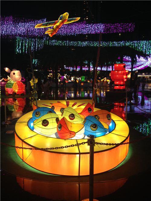 fishing game lantern