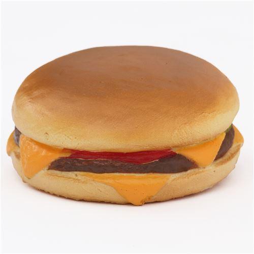cute hamburger cheese squishy charm cellphone charm kawaii