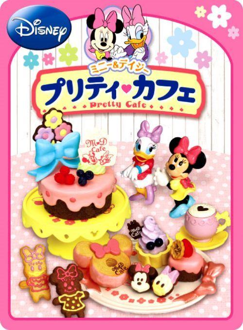 Re-Ment Disney Minnie & Daisy Pretty Cafe Miniature